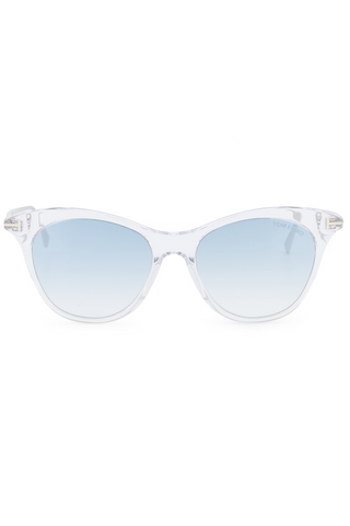 Front view image of Tom Ford Women's Micaela Crystal Sunglasses