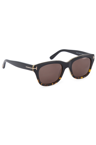 Angled front view image of Tom Ford Snowdon Sunglasses