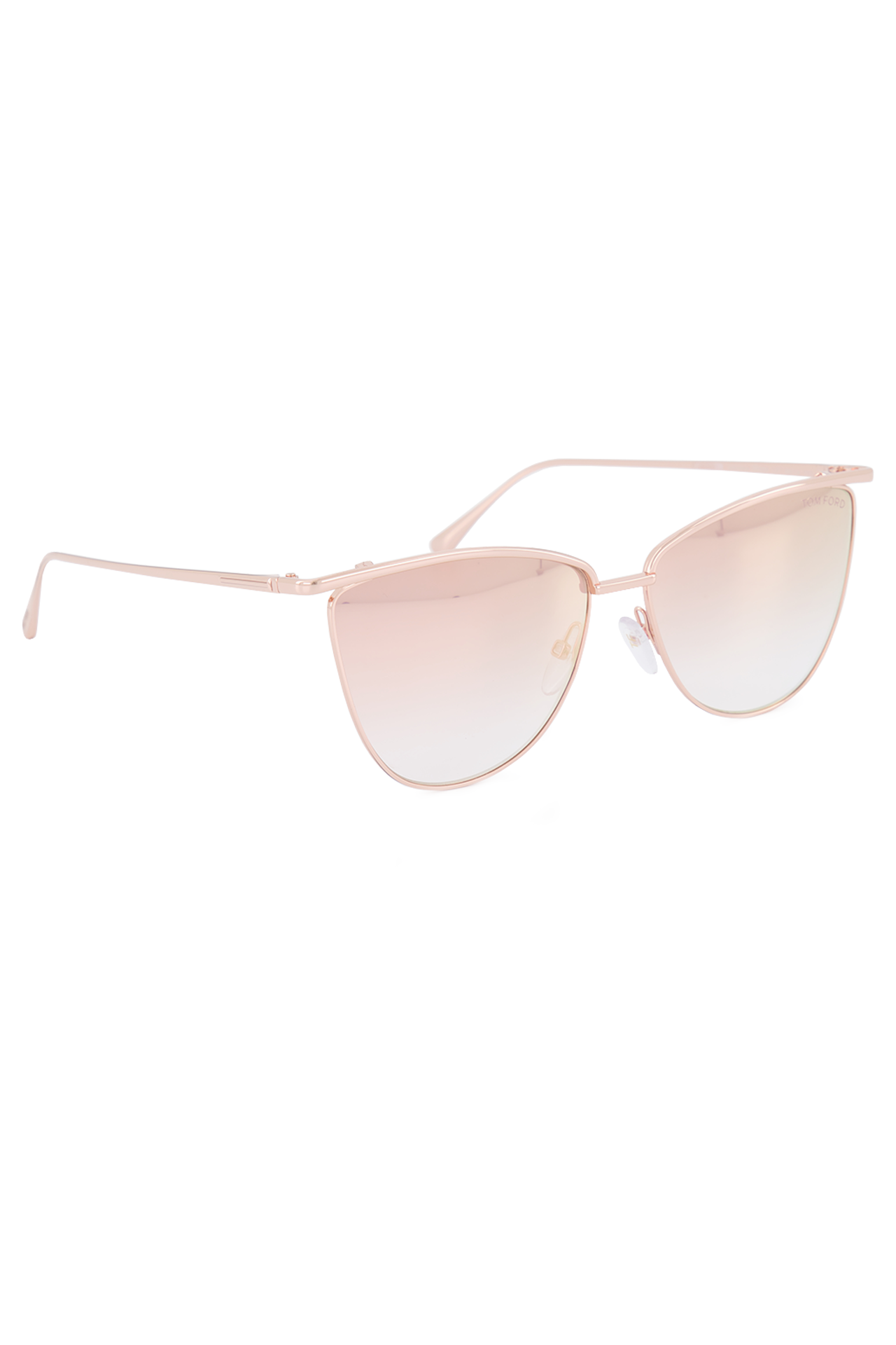 Front angled view image of Tom Ford Veronica Metal Sunglasses
