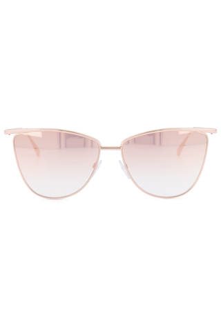 Front view image of Tom Ford Veronica Metal Sunglasses