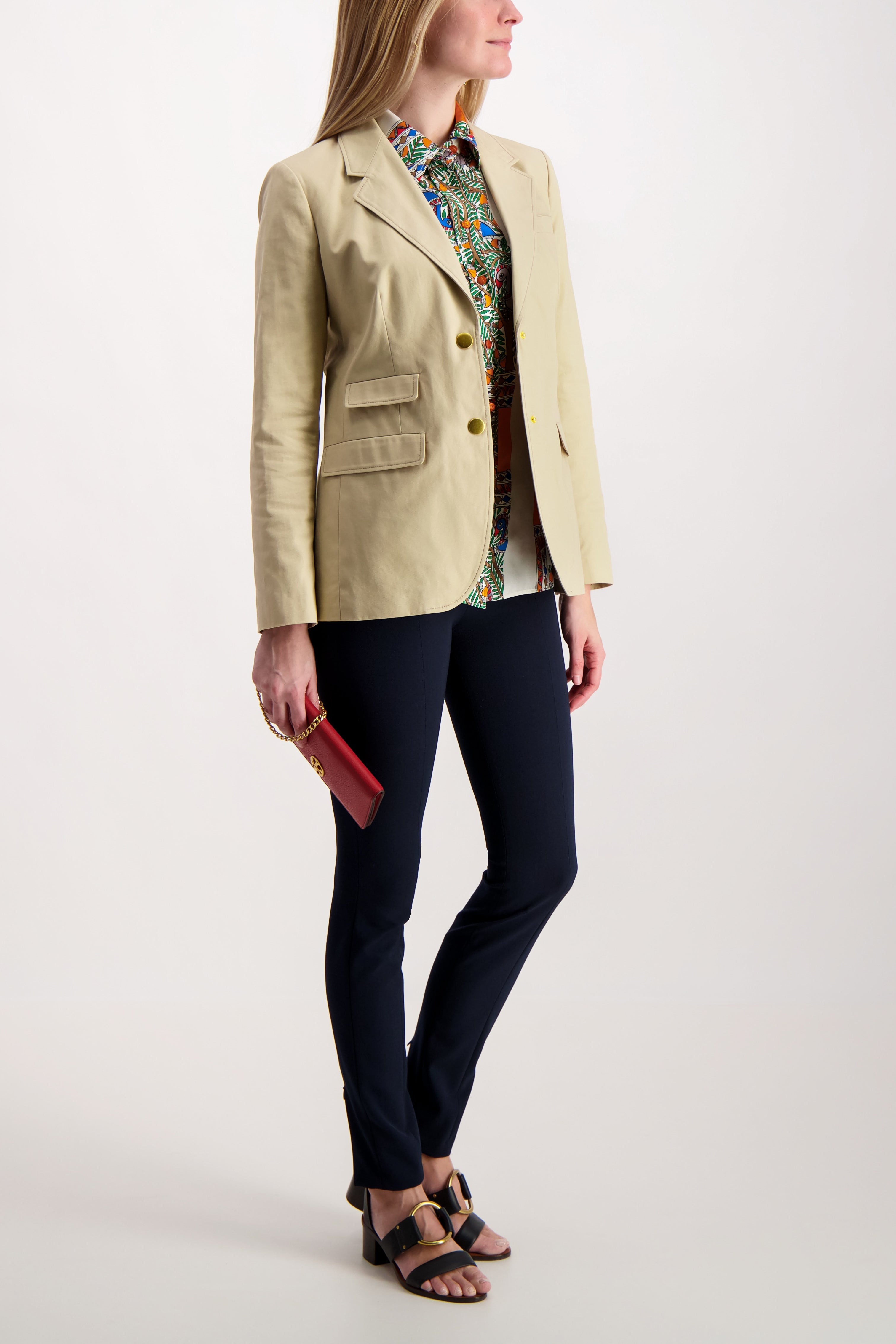 Cotton Chino Blazer