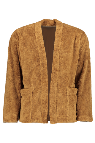 Front view image of TS(S) Lined Easy Cardigan Khaki