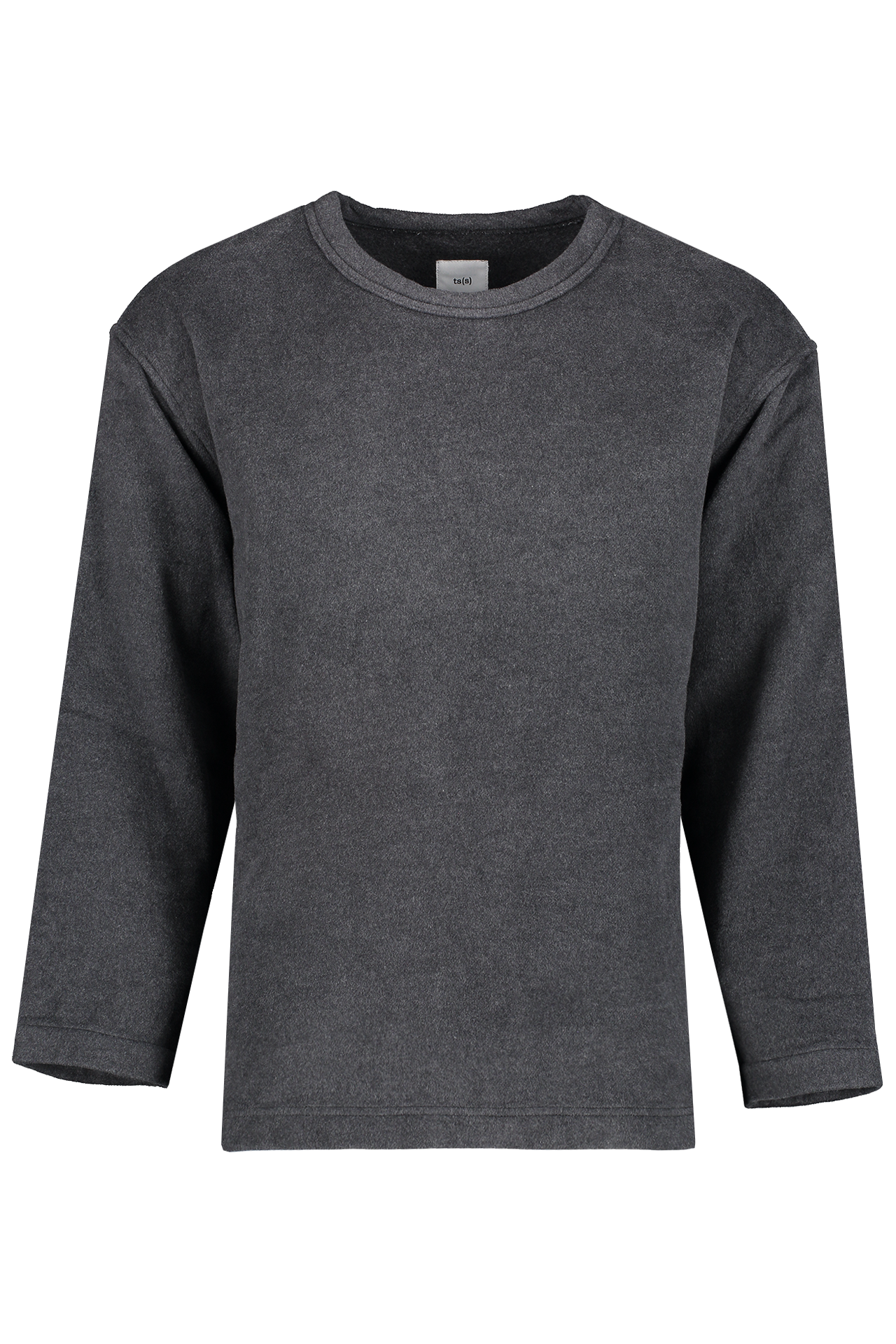 Front view image of TS(S) Long Sleeve T-Shirt Grey