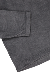 Hemline and cuff detail image of TS(S) Long Sleeve T-Shirt Grey