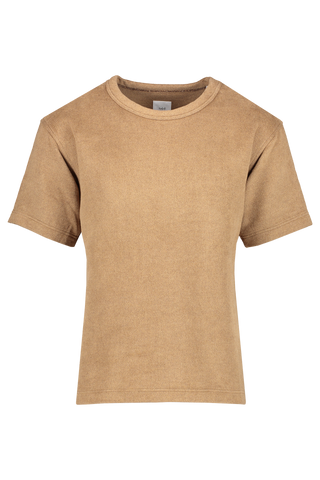 Front view image of TS(S) Short Sleeve T-Shirt Camel