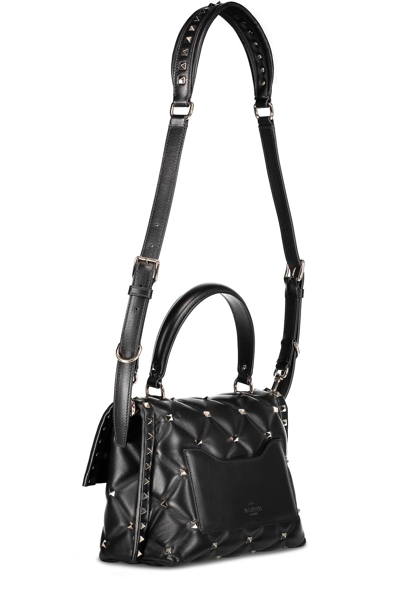 Candystud Single Handle Bag Nero