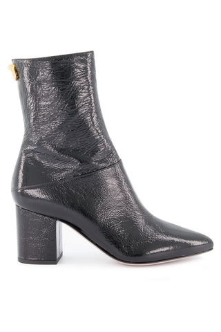 Side view image of Valentino Ringstud Bootie