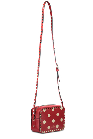 ROCK DOT CROSSBODY RED