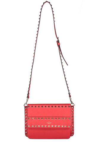 Front image hanging of Valentino Rockstud Belt Bag