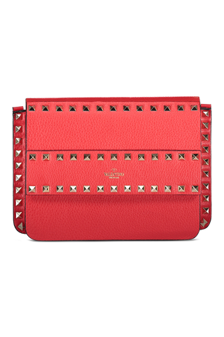 Front image of Valentino Rockstud Belt Bag