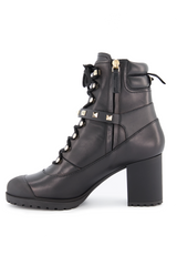 Medial Side Image of Rockstud Combat Boot