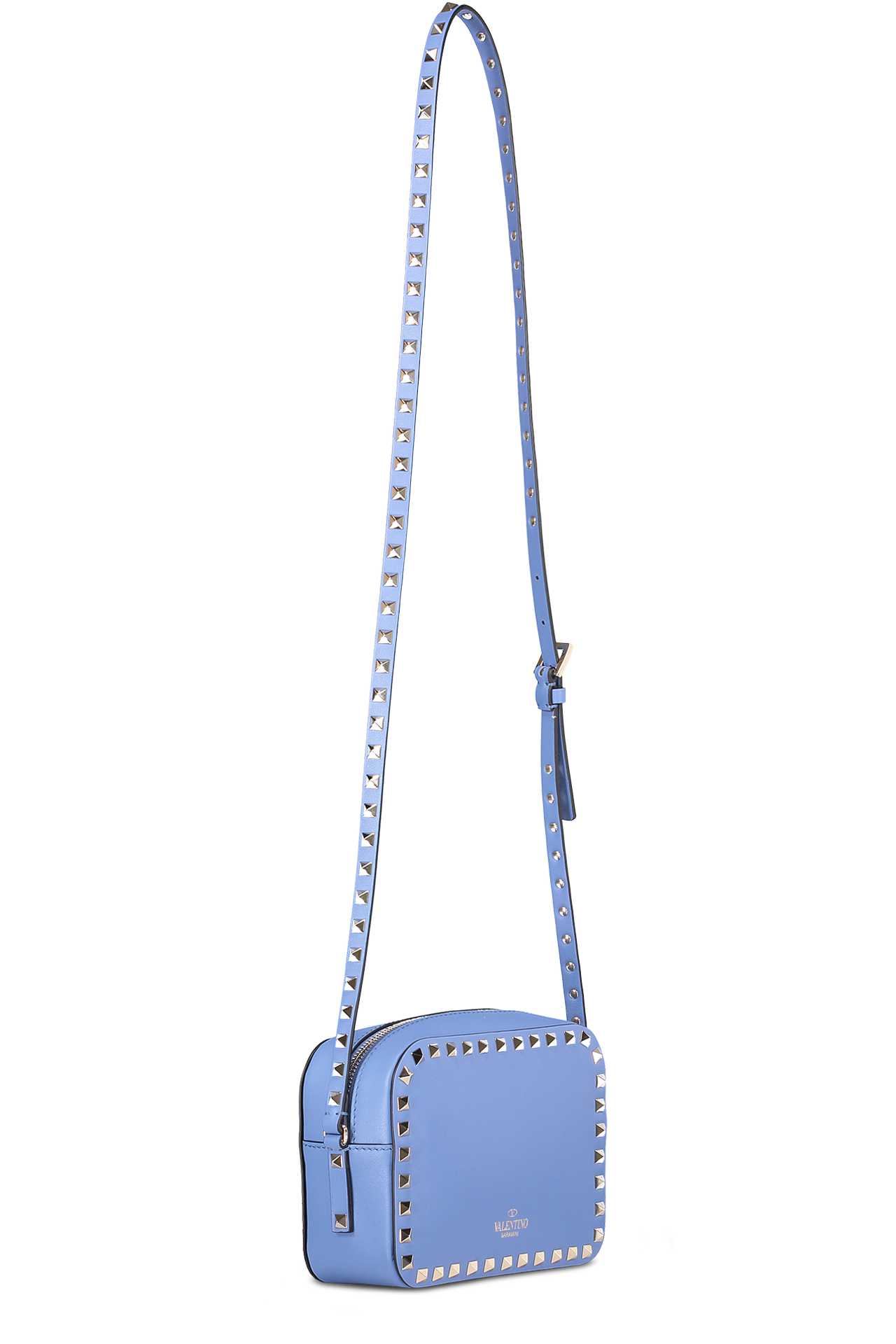 Back Image with Strap Rockstud Crossbody Bag Giacinto