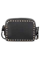 Rockstud Crossbody Bag Nero