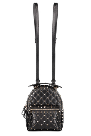 Rockstud Spike Mini Backpack Nero