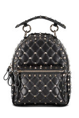 Front Image Of Valentino Rockstud Backpack