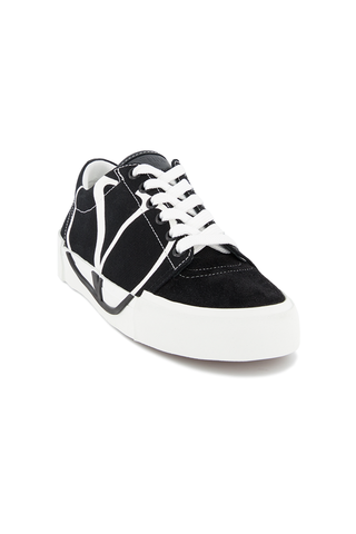 Front angle view of Valentino Tricks Canvas Sneaker