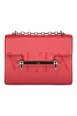 Uptown Shoulder Bag In Rosso