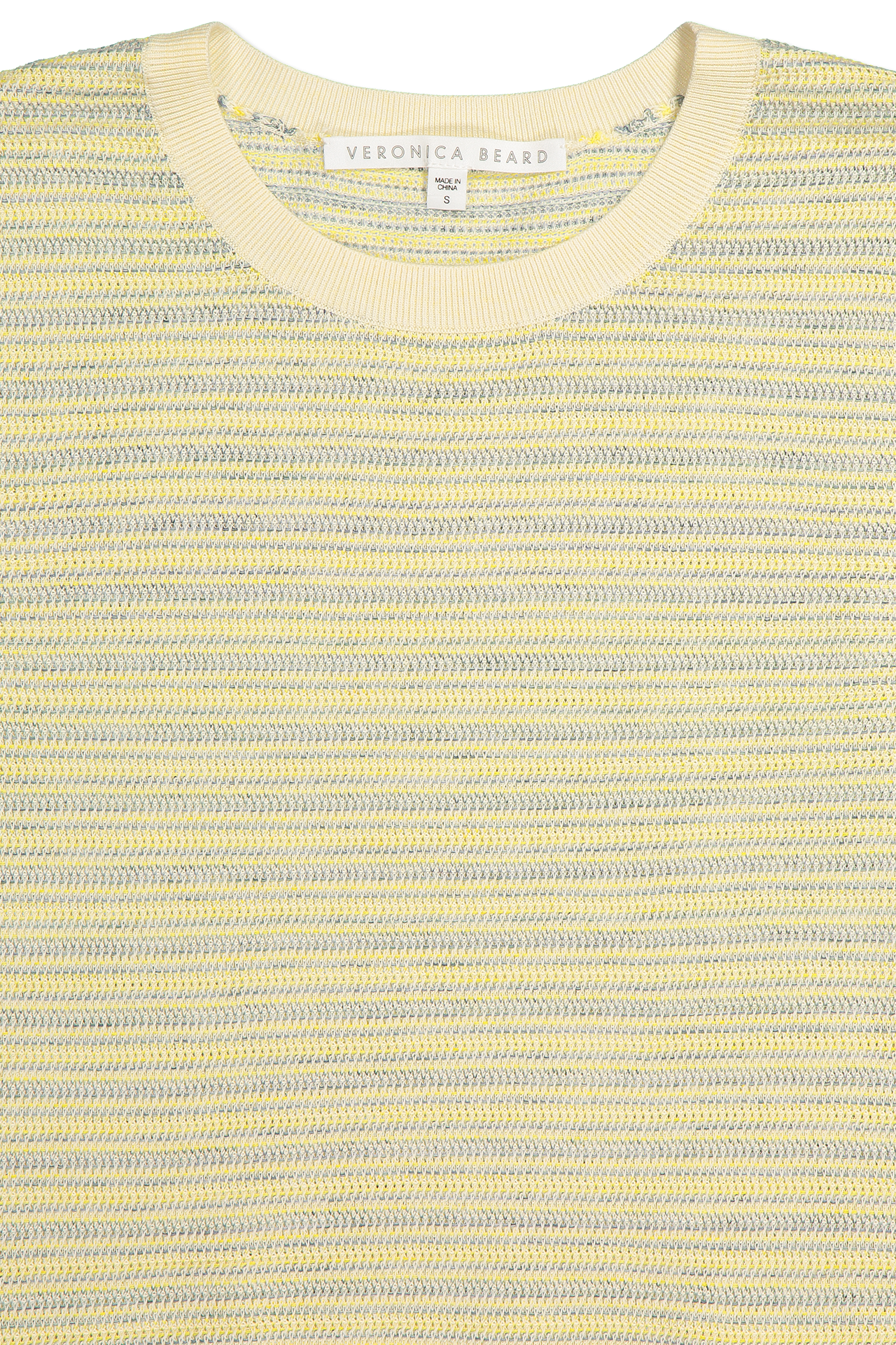 Crew neckline detail image of Veronica Beard Boise Sweater