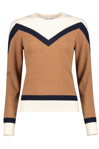 Front image of Veronica Beard Bradford Pullover