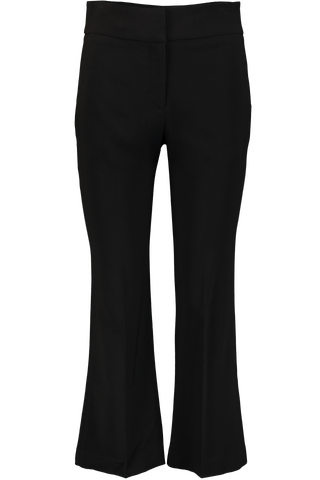 CORMAC CROP TROUSER BLACK
