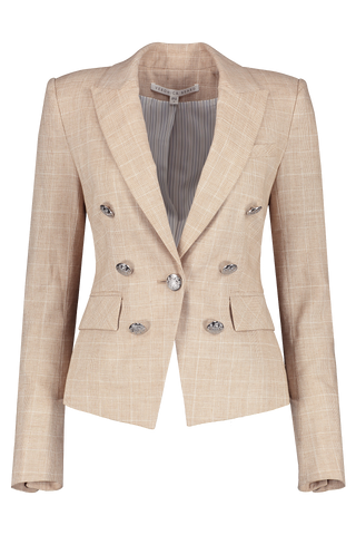 Front view image of Veronica Beard Diego Dickey Jacket