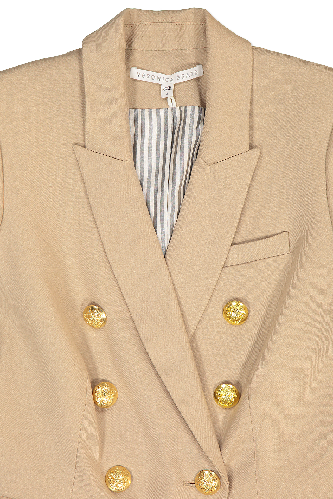 Lapel Detail Empire Dickey Jacket
