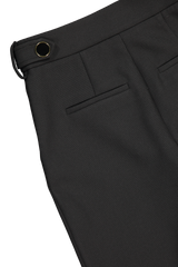 Back pocket detail image of Veronica Beard Gamila Pant Black