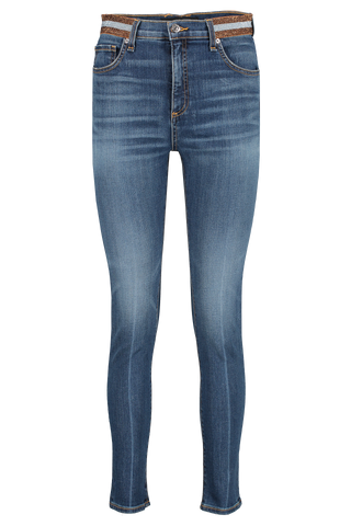 Front image of Veronica Beard Kate High Rise Skinny