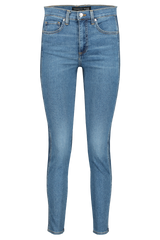 Front Image of Veronica Beard Kate High Rise Skinny Two Tone