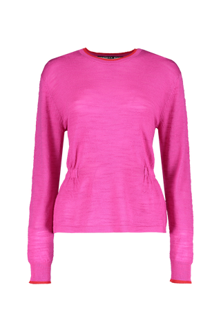 Front view image of Veronica Beard Women's Long Sleeve Charlene Pullover