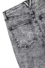Back pocket detail image of Veronica Beard Women's Maera High Rise Skinny Black