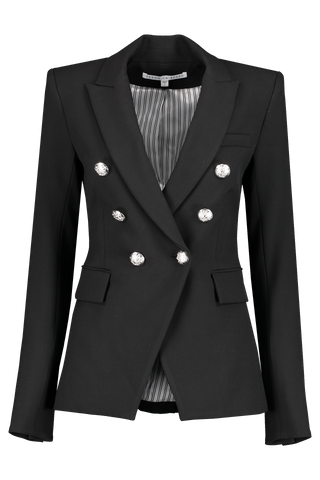 Front view image of Veronica Beard Miller Dickey Jacket