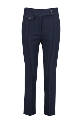 Front view image of Veronica Beard Renzo Pant Navy