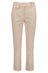 Front view image of Veronica Beard Renzo Pant Tan
