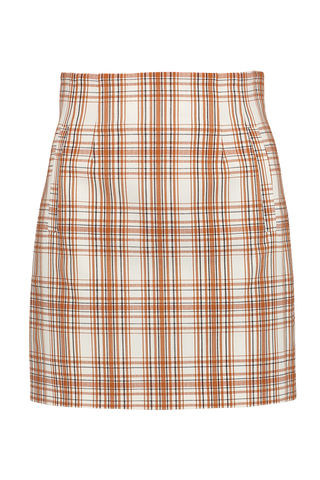 Front Image Of Veronica Beard Roman Skirt