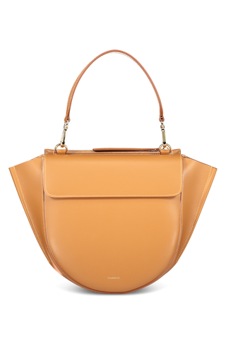 Front view image of Wandler Hortensia Bag Medium Calf Leather Caramel