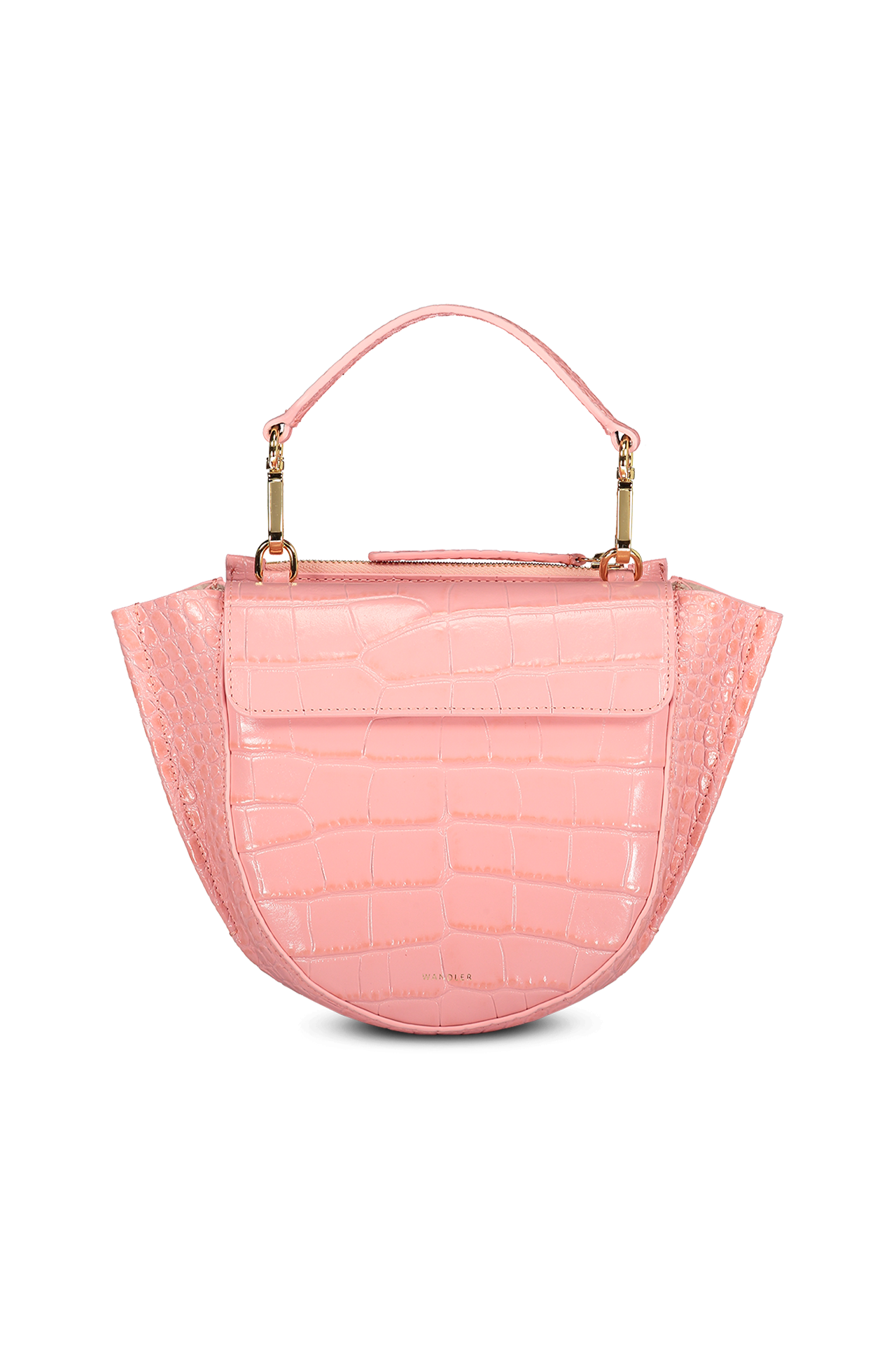 Hortensia Bag Mini Croco Calf Leather Blossom