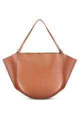 Front image of Wandler Mia Tote Calf Leather