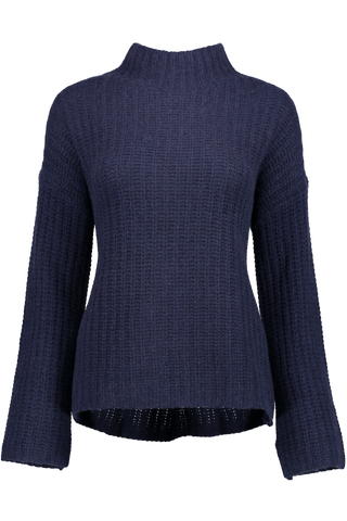 Luxe Standneck Sweater