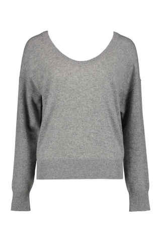 Open Scoopneck Sweater