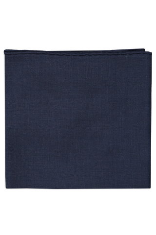 Wispy Solid Square Scarf Navy