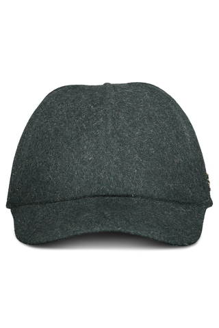Front view image of Ermenegildo Zegna Baseball Cap Green