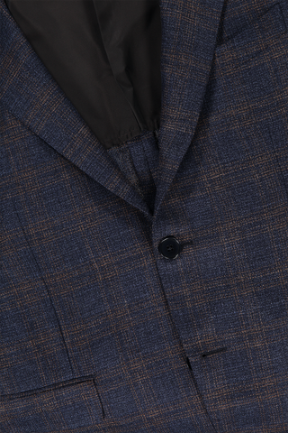 Blue Light Tweed Sportcoat