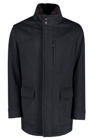Front view image of Ermenegildo Zegna Elements Pure Cashmere Outerwear