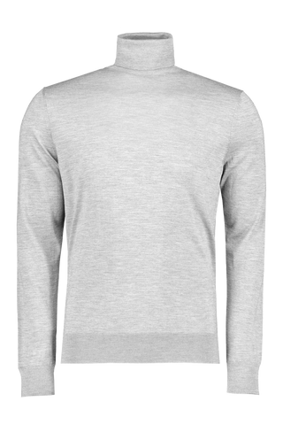 Cashseta Turtleneck Light Grey