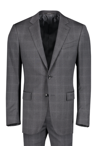 Front view image of Ermenegildo Zegna Charcoal Suit