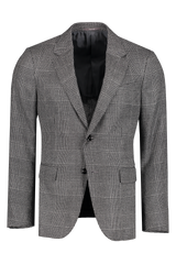 Front view image of Ermenegildo Zegna Grey Plaid Sport Coat