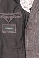 Interior pocket detail image of Ermenegildo Zegna Large Plaid Milano Sportcoat