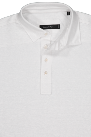 Linen Short Sleeve Polo