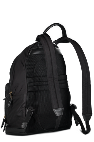Backpack New Nylon and Pelle Tessuta